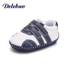 2019 <b>Delebao</b> 2018 Autumn New Design Baby Shoes <b>Soft</b> Sole <b>Pu</b> ...