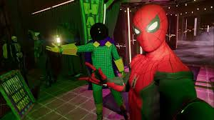 <b>Spider</b>-Man at a <b>Halloween Party</b> (Far From Home Suit Gameplay ...