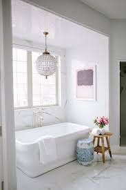 6 simple stylish interiors were gaga over best friends for frosting bathroom chandelier lighting ideas