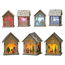 New Year <b>Christmas DIY</b> Luminous Cabin Innovative <b>Christmas</b> ...