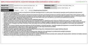 registered dental assistant resumejpg image format   registered dental assistant resume