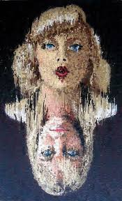 Runny Pointillism - Alex Young's Alter-Ego Paintings ... - runny-pointillism-paintings-alex-young