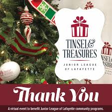 2020 <b>Tinsel</b> & Treasures Holiday Market - Junior League of Lafayette