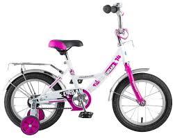 Купить Детский велосипед <b>Novatrack Urban 14</b> (2018) <b>белый</b> ...