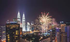 Get a spectacular view of the fireworks at these New Year