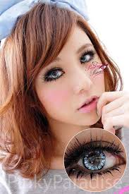 Princess Pinky Twilight Blue Circle Lenses (Colored Contacts) - twilight%2520blue