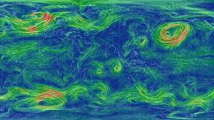 Resultado de imagen para mapa de vientos