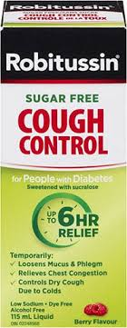 Robitussin Sugar Free Cough <b>Control</b> For People With Diabetes ...