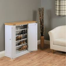 chadwick grey painted oak hallway furniture large shoe storage cabinet cupboard chadwick satin lacquered oak hidden
