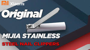<b>Original Xiaomi Mijia Stainless</b> Steel Nail Clippers - YouTube