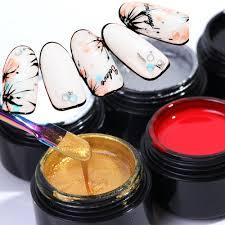 <b>1 Bottle</b> Painting <b>Gel Nail</b> Polish Pull Line <b>Gel</b> Lacquer <b>UV</b> Soak Off ...