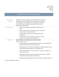 telemetry nurse resume samples tips and templates telemetry nurse resume