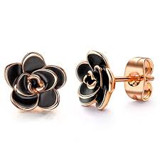<b>18K Rose Gold</b> Earrings: Amazon.com