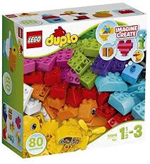 Duplo Lego My First Bricks Building Set - 80 pcs ... - Amazon.com