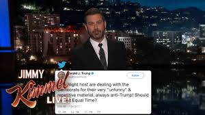 Jimmy Kimmel on Twitter Fight with Donald Trump Jr. - YouTube
