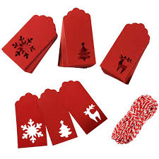 Paper Tags Kraft <b>Christmas</b> Tags Hang Labels <b>Christmas</b> Tree ...