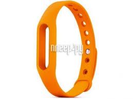 <b>Aксессуар Ремешок Activ for</b> Xiaomi Mi Band Silicone Orange 83773