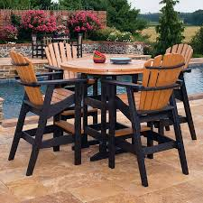 bar height patio chair: bar height patio table and chair sets bar height patio set