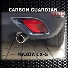 Реснички <b>задних противотуманных</b> фар Guardian Карбон на ...