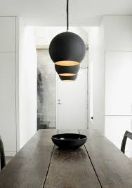 dining room lighting 610x867 art studio and home 2 in 1 for a danish artist by artist studio lighting