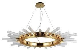 Подвесная <b>люстра Crystal Lux Fair</b> SP15 Gold D1000 - купить в ...