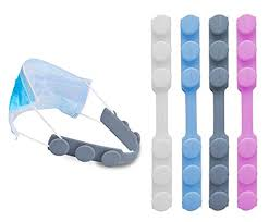 4 PCS <b>Extended</b> Silicone Bands Anti-Tightening Strap for <b>Masks</b> to ...
