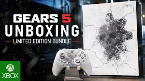 Unboxing the <b>Xbox One</b> X <b>Gears 5</b> Limited Edition Bundle - YouTube