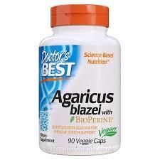 Doctor's Best <b>Agaricus Blazei with BioPerine</b>   400mg, 90 Vegetarian ...
