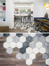 Hexagon Tile Floor Patterns 19 Ideas For Using Hexagons In Interior Design And Architecture
