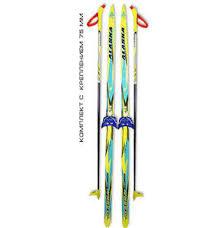 Беговые лыжи STC (<b>лыжи</b>, <b>крепления 75мм</b>, палки) 200 см купить ...