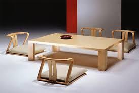 Japanese Dining Room Table Japanese Dining Room Furniture Wandaericksoncom