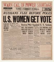 newspapers j media history 18 1920 tennessee became the 36th state to ratify the 19th amendment to the u s constitution seven years after the suffrage parade and 72 years after