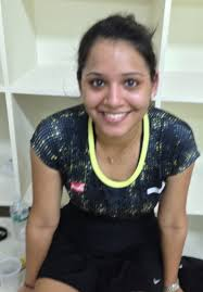 The 6.15pm match was American based and world #11 Kasey Brown against Indian's #1 player Dipika Pallikal. - carolw69