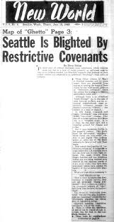 racial restrictive covenants the communist party newspaper new world published articles attacking racial restrictive covenants in 1948