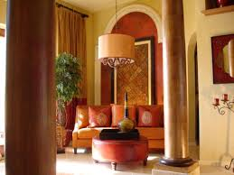 living room furniture spaces inspired:  rms wallscouture formal room with warm tones columns sxjpgrendhgtvcom
