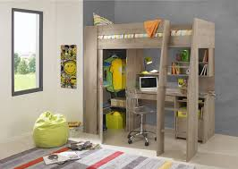 bedroom winsome closet:  furniture impressive timber kids loft bunk beds with desk closet gautier gami furniture images of
