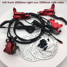 Zoom CR3 Electric scooter brakes Bicycle oil disc brakes oil brake ...