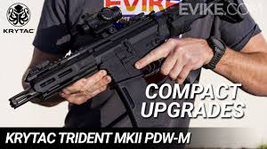 Compact Upgrades - Krytac Trident MKII <b>PDW</b>-M - Review - YouTube