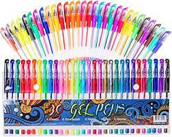 Amazon.com : <b>Gel Pens</b> for Adult Coloring Books, 30 Colors Gel ...