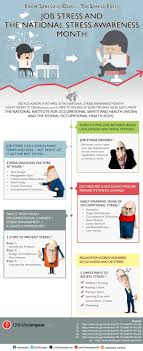 job stress and the national stress awareness month ly job stress and the national stress awareness month infographic