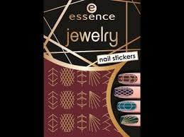 <b>Essence</b> Cosmetics Jewelry <b>Nail</b> Stickers Product Review - YouTube