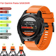 <b>26 22 20MM Watchband</b> Strap for Garmin Fenix 5X 5 5S Plus 3 3HR ...