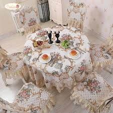 Proud Rose <b>European Round Tablecloth</b> Big Size Cover Cloth <b>Lace</b> ...
