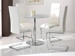 dining chair set clear