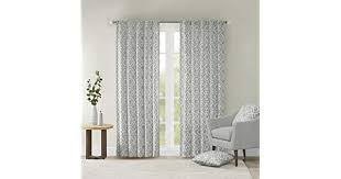 Grey Curtains For <b>Living</b> room, Modern Contemporary Fabric ...