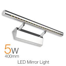 waterproof modern led bathroom lighting 40cm 5w vanity led mirror light fixture wall lamp sconces wall cheap vanity lighting