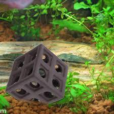 <b>Aquarium Ceramic</b> Cube Hiding Cave Fish Shrimp Crab <b>Shelter</b> ...