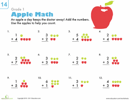 1st Grade Math Worksheets & Free Printables | Education.com