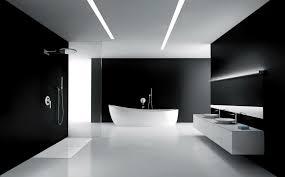 drop dead gorgeous black bathroom design with white modern bathtub above white ceramic flooring and white bathroomdrop dead gorgeous great