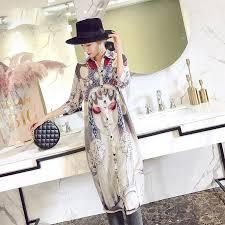 <b>Beijing Opera</b> Facial Masks <b>Pattern</b> Cheongsam Top Casual Dress ...